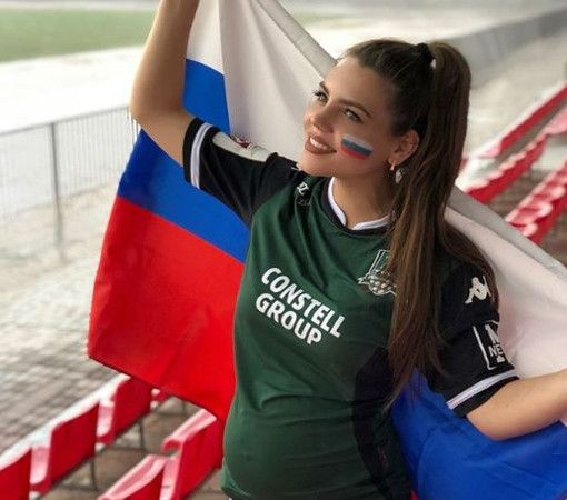 Самые яркие болельщики матча Россия – Уругвай, которых мы запомним