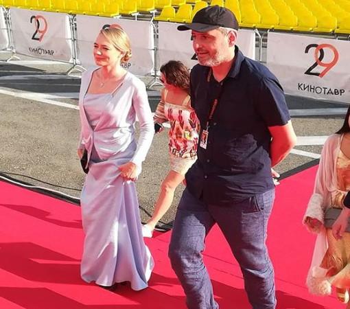 Члены жюри основного конкурса - Оксана Акиньшина и Алексей Попогребский