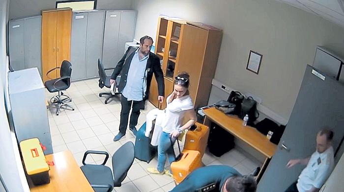 Во время задержания Жак и Диана чистосердечно признались в нарушении закона