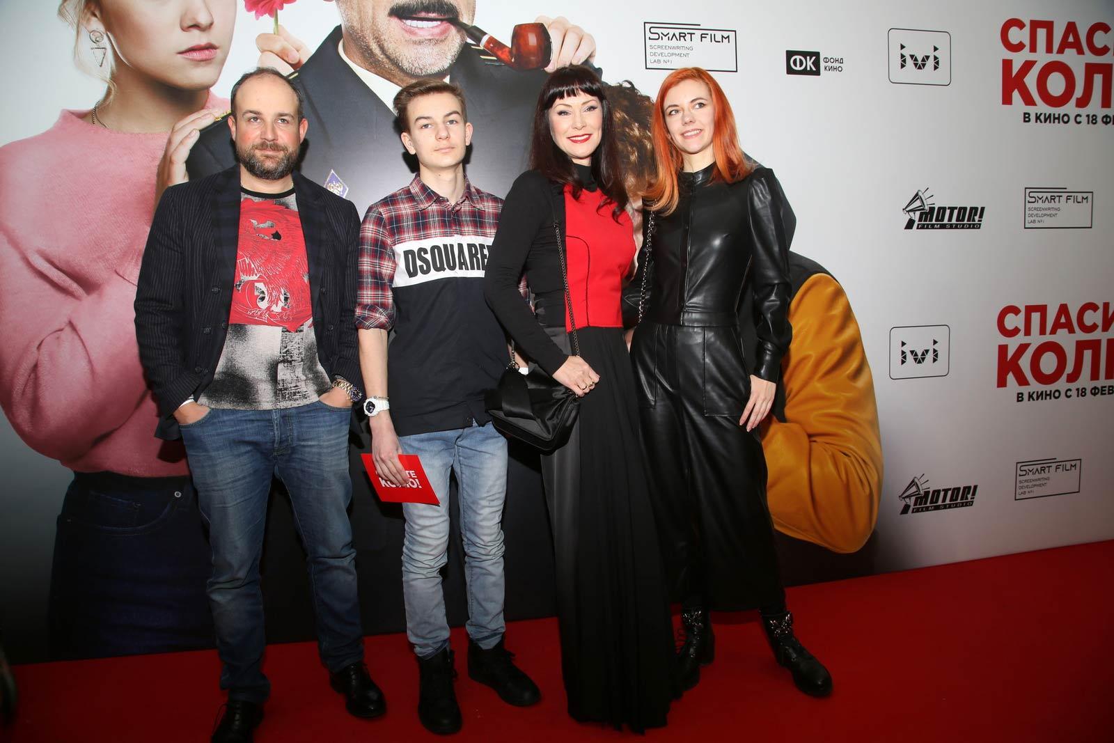Нонна Гришаева и другие звезды на премьере фильма Дмитрия Губарева «Спасите Колю!»