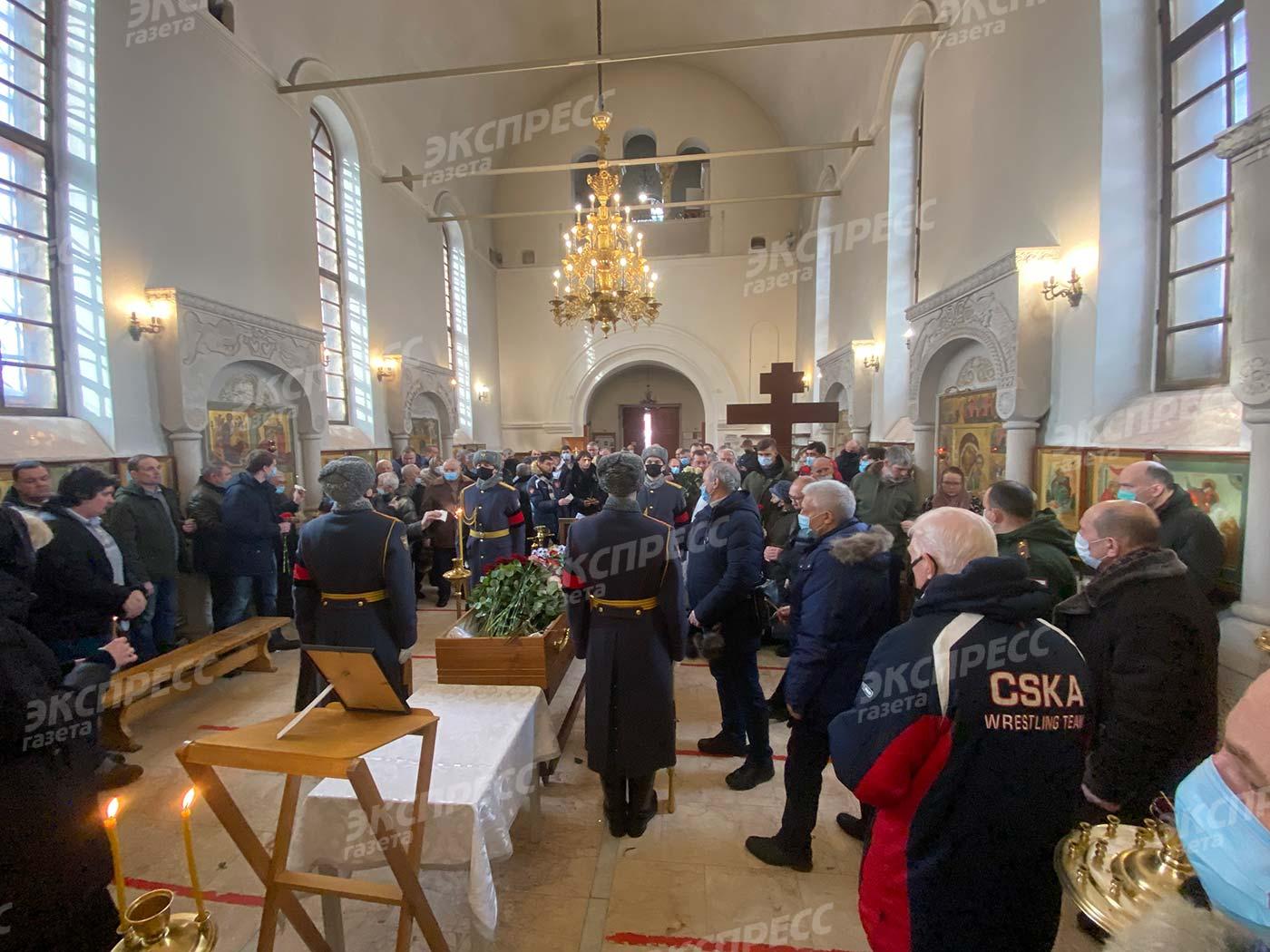 Похороны Юрия Власова. Фото: Руслан Вороной