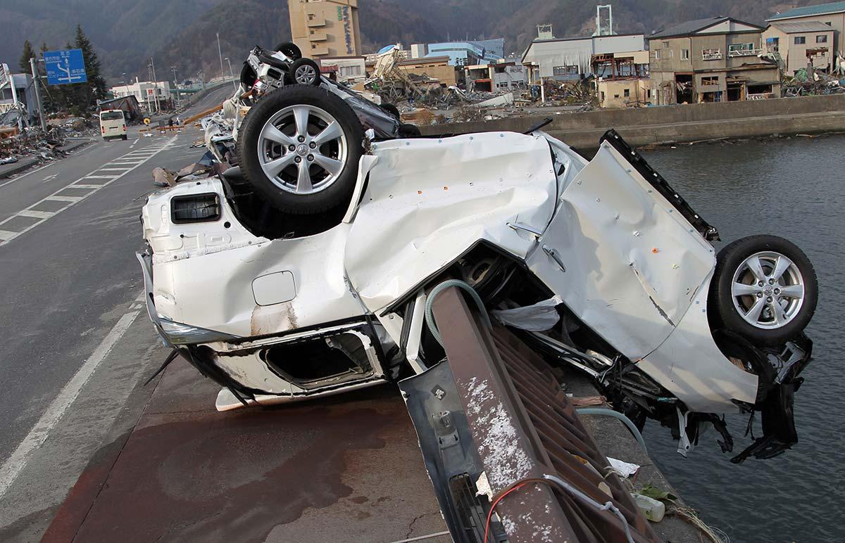 Великое восточно-японское землетрясение 2011 года. x99/ZUMAPRESS.com/globallookpress