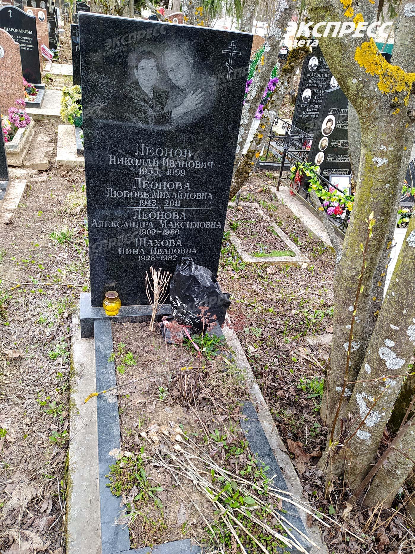 Могила писателя и сценариста Николая Леонова. Фото: «Экспресс газета»