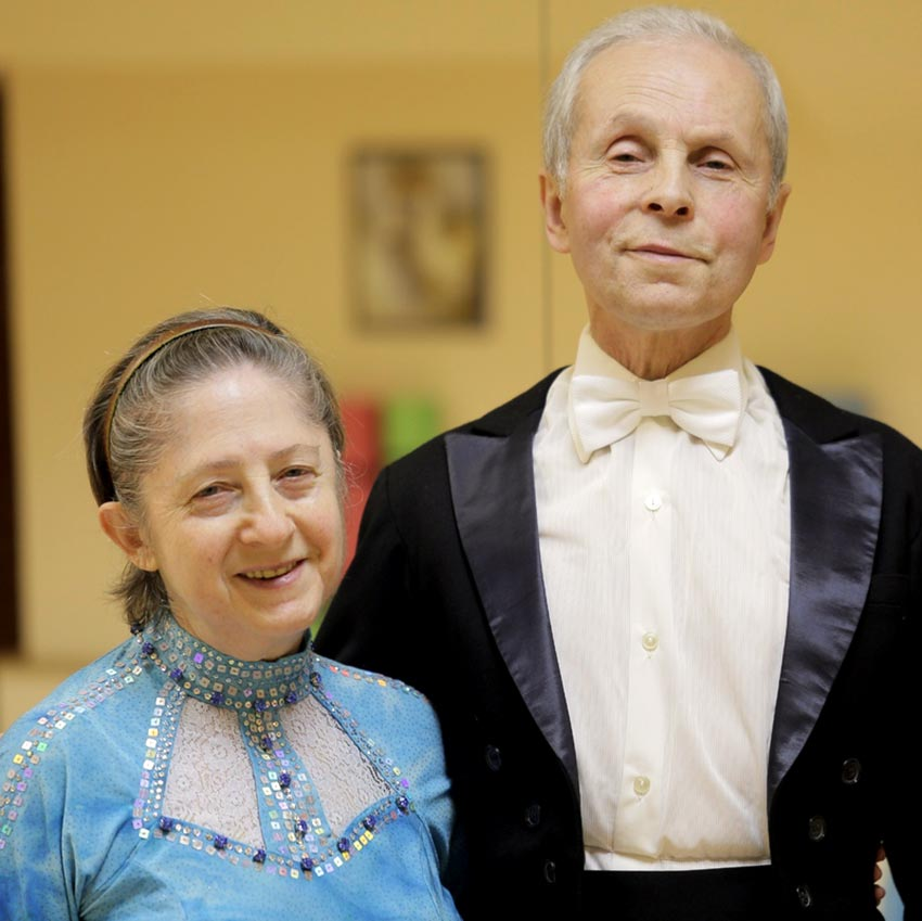 супруги Елена и Владимир Грановские