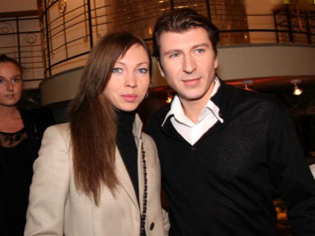 Татьяна Тотьмянина в компании Алексея Ягудина