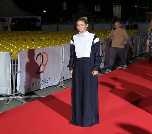 "Актриса Наталья Бардо, ""Кинотавр"""