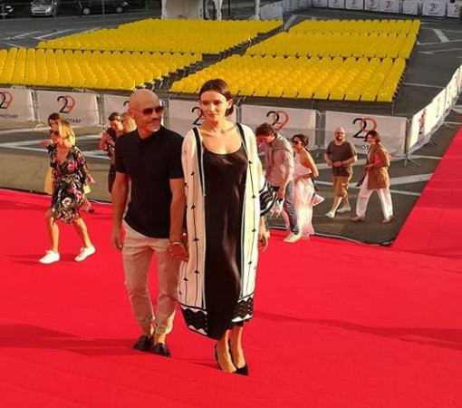 """Одна из самых красивых пар нашего кино - Паулина Андреева и Федор Бондарчук, """"Кинотавр"""""""