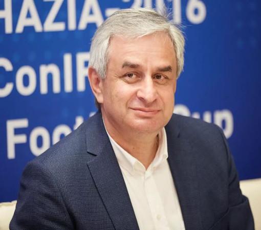 Президент Абхазии - Рауль Хаджимба