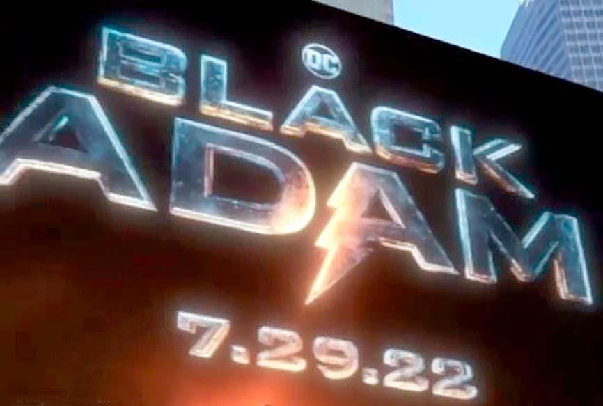 Дату премьеры «Черного Адама» сообщили с размахом — на нью-йоркской Таймс-сквер