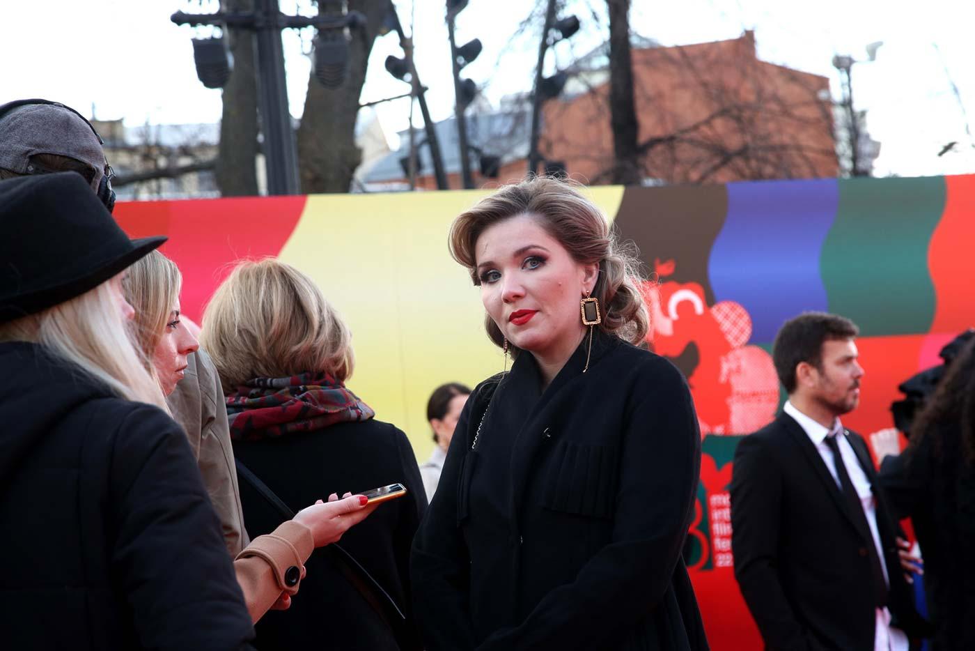 Звезды на церемонии закрытия 43-го Московского международного кинофестиваля (11)