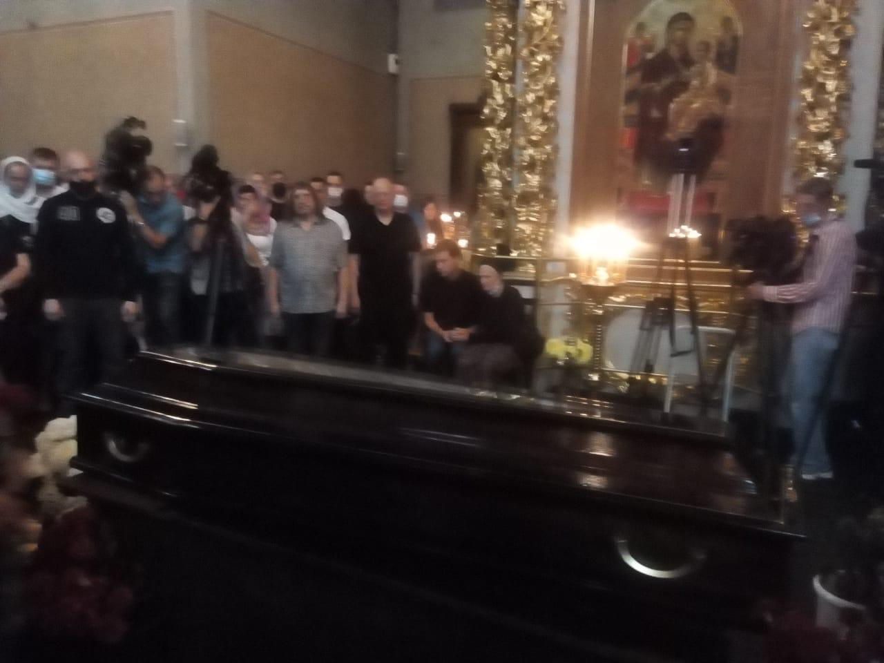 Похороны Петра Мамонова. Фото: Борис Кудрявов