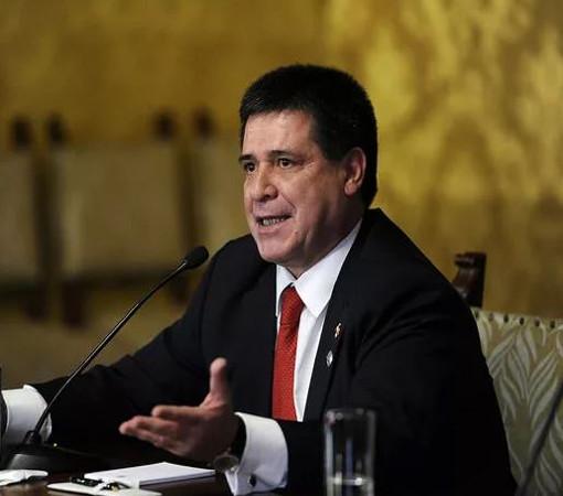 Президент Парагвая — Орасио Картес