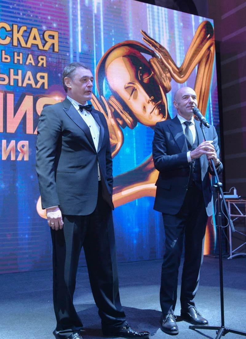 Юрий Костин и Игорь Крутой