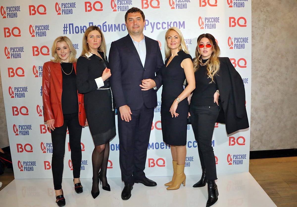 Звезды на пресс-бранче «Русского радио» поделились своими новостями