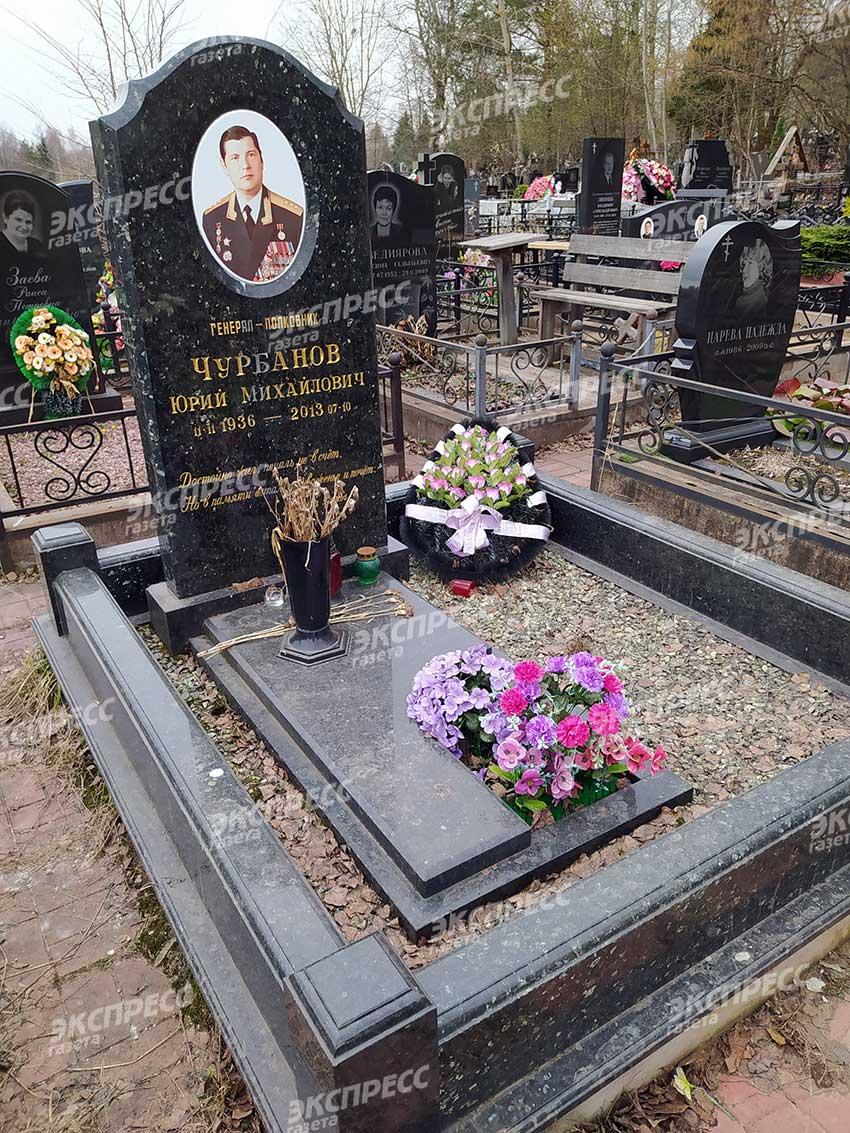 Могила зятя Брежнева Юрия Чурбанова. Фото «Экспресс газета»