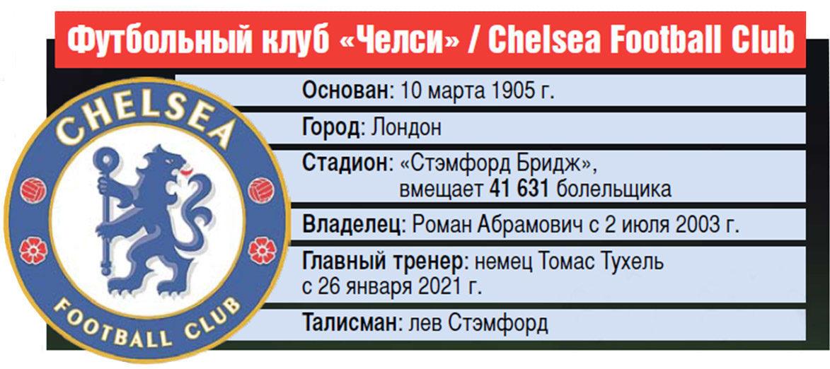 Футбольный клуб «Челси» / Chelsea Football Club