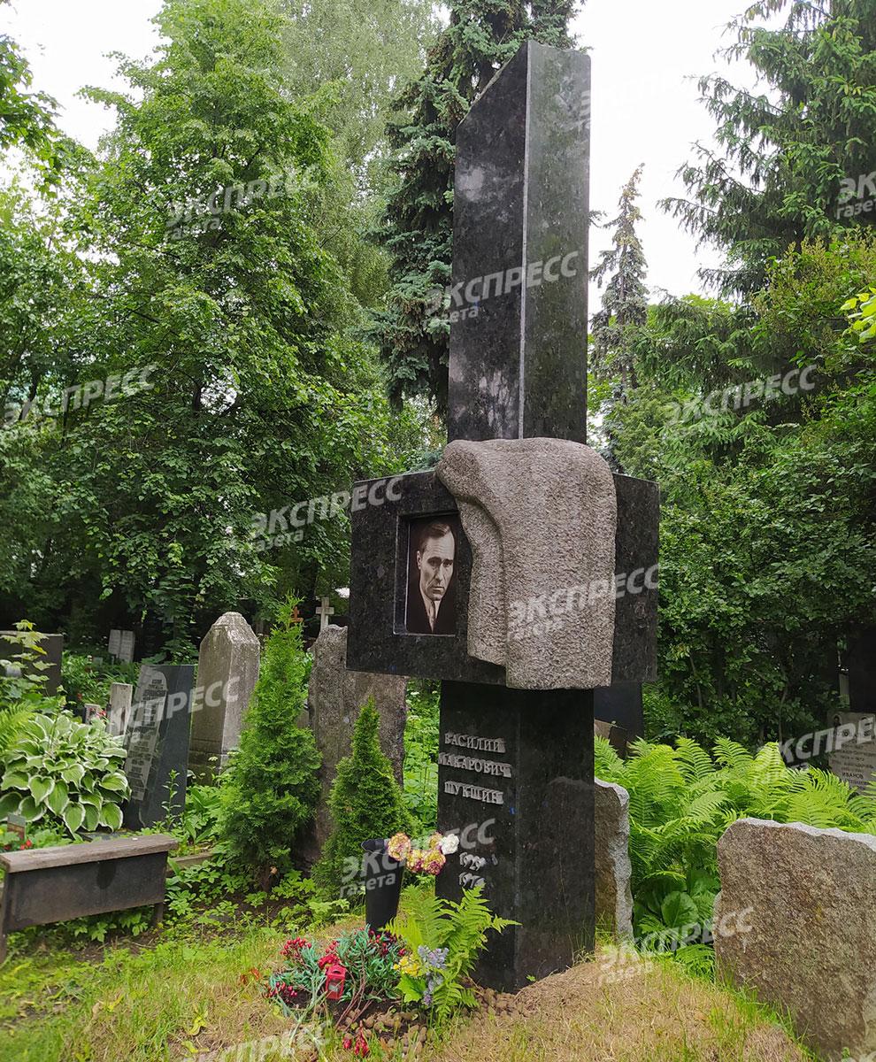Могила Василия Шукшина. Фото: «Экспресс газета»