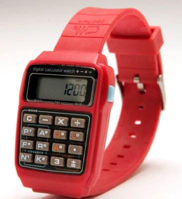 Часы с пультом и калькулятором