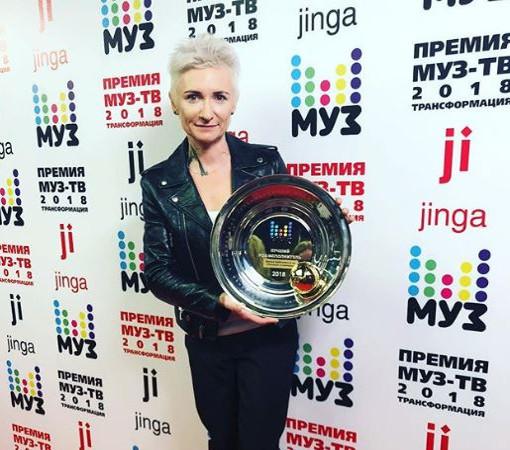 Певица Диана Арбенина