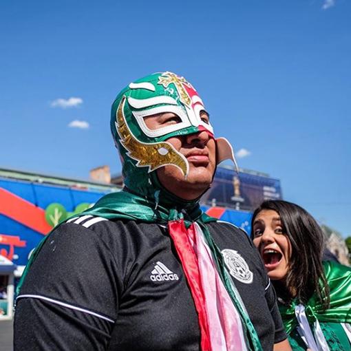 Мексиканский фанат