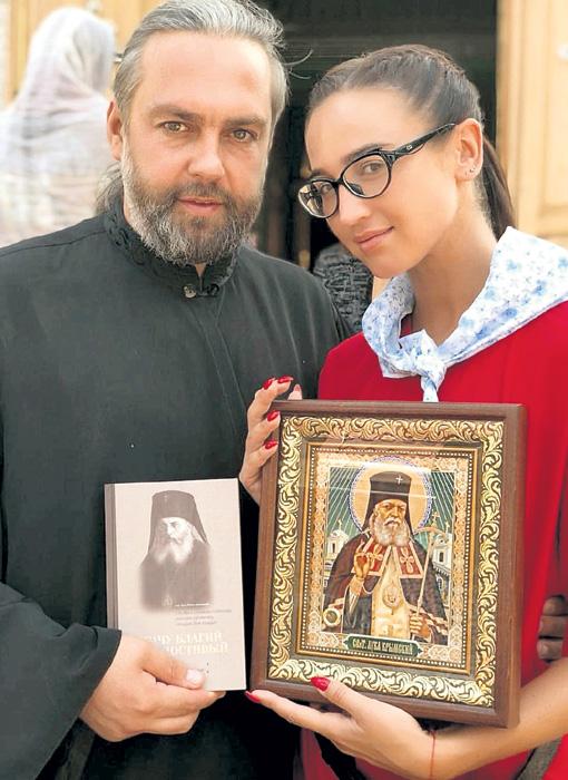 Оля и отец Александр