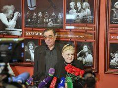 Михаил Цивин и Наталия Дрожжина
