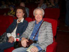 Лион Измайлов с женой