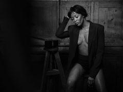 Наоми Кэмпбелл для Numéro Magazine's, 2018. Фото: Питер Линдберг