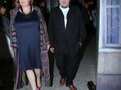 Павел Лунгин с женой