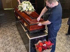 Похороны Нины Ивановой