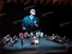 Появились первые кадры с прощания со звездой «Большой перемены» Валерием Хлевинским