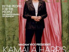 Темнокожую Камалу Харрис отбелили для обложки журнала мод