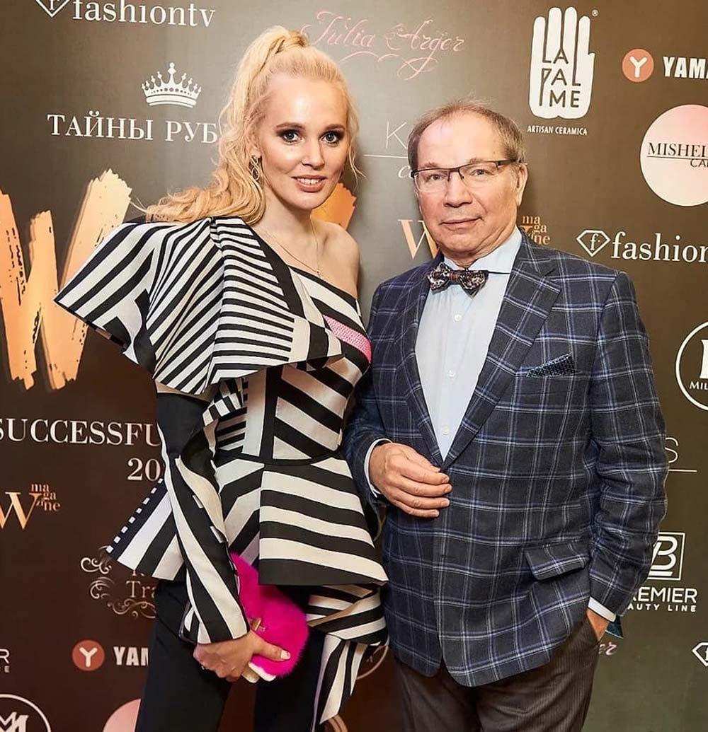 Олеся Бословяк и Юрий Розум. Фото: пресс-служба