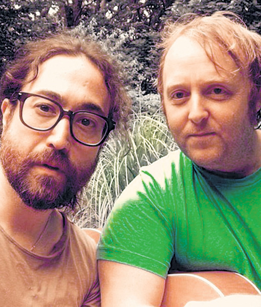 Шон Леннон и Джеймс Маккартни очень похожи на родителей - Джона и Пола