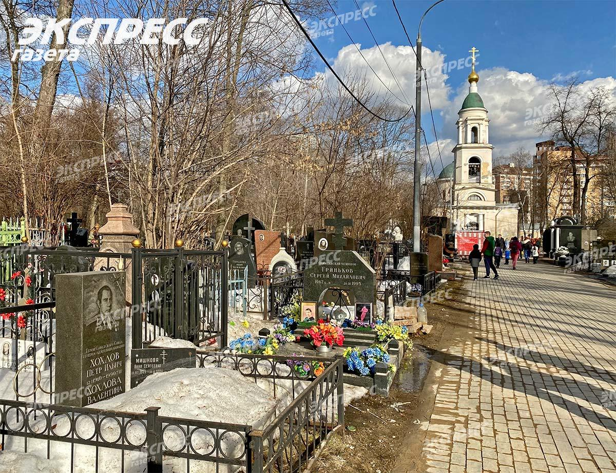 Могила Сергея Гринькова (1)