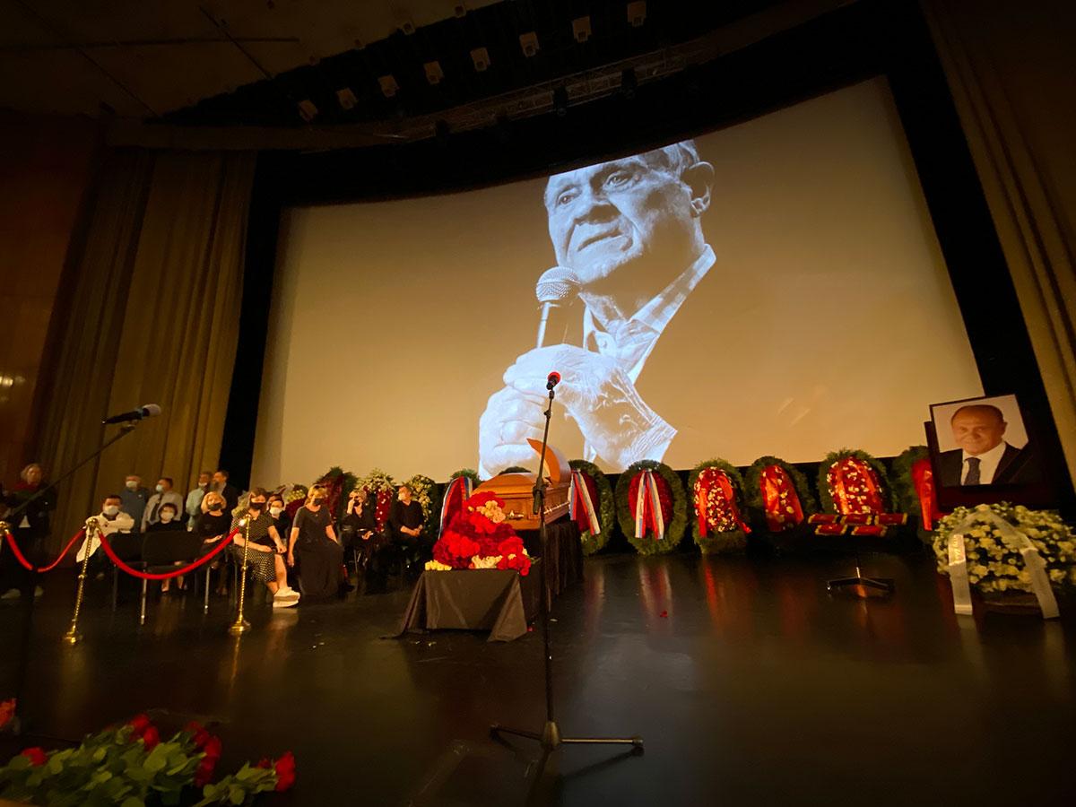 Прощание с Владимиром Меньшовым. Фото: Руслан Вороной
