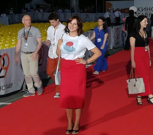 Российская актриса театра и кино Анна Банщикова