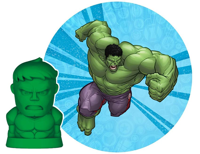 Халк, Marvel, супергерои, ластик, стиратель, пятерочка