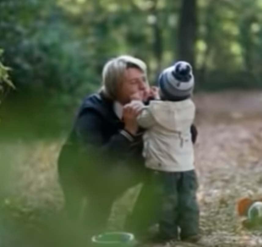 Николай Басков с сыном. Кадр youtube (1)