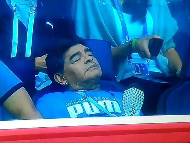Марадона устал