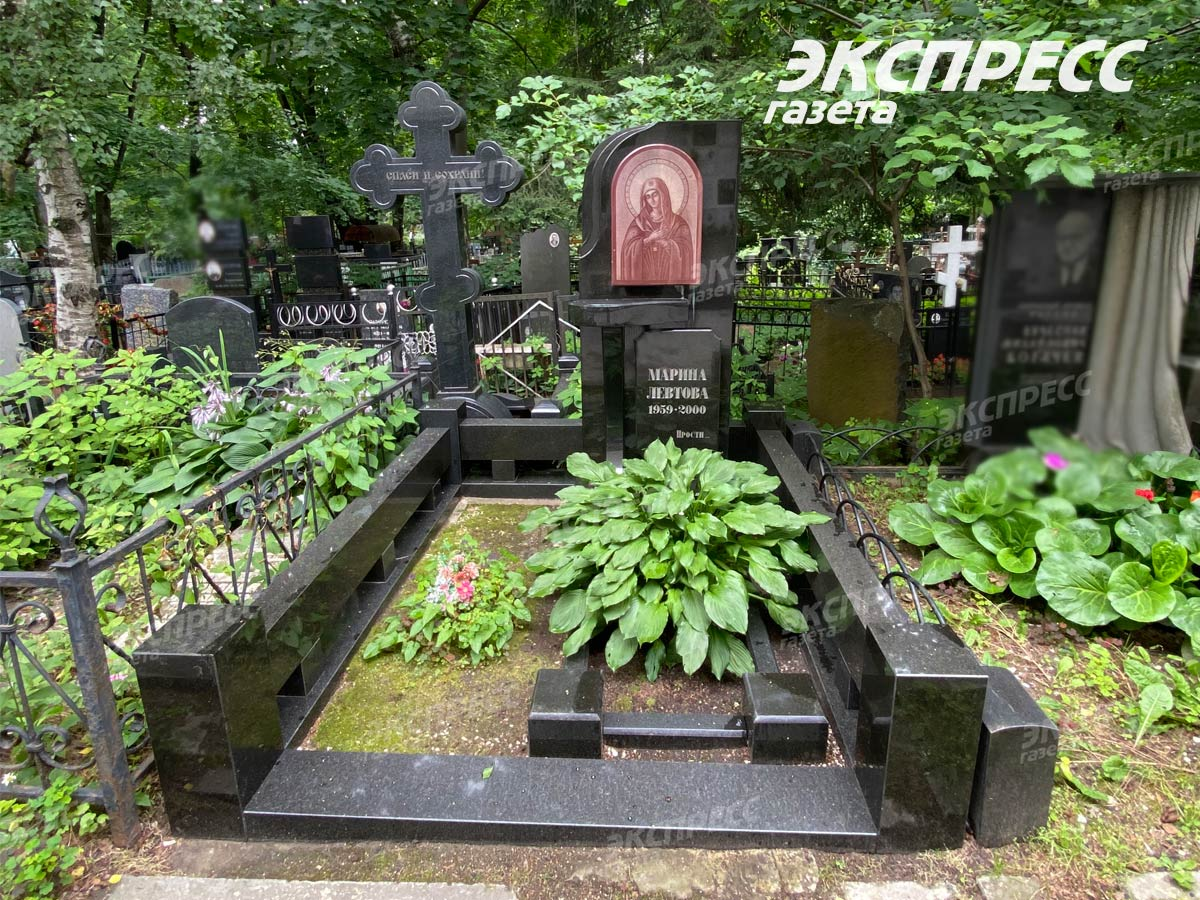Могила Марины Левтовой: где похоронена актриса, фото памятника. Фото: Экспресс газета