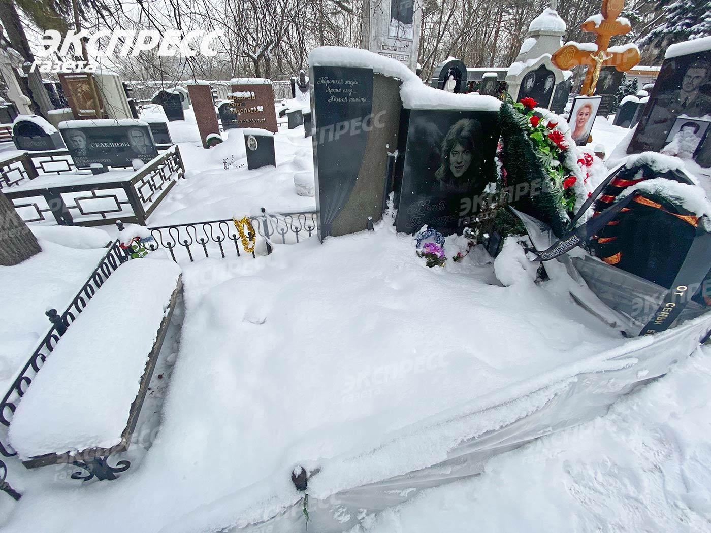 Как выглядит могила Жени Белоусова спустя 24 года со дня смерти