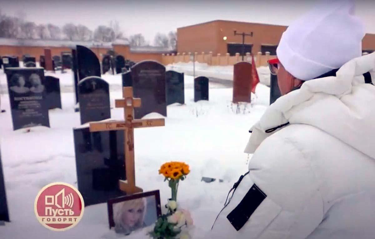 Как выглядит могила Валентины Легкоступовой