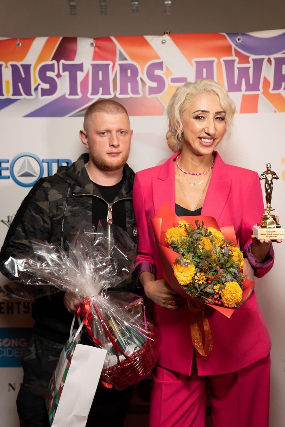 Ольга Бузова и Настя Годунова стали лауреатами еще одной премии