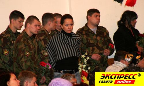 Похороны Александра Дедюшко.