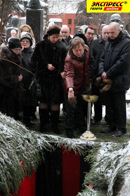 фото похорон надежды румянцевой