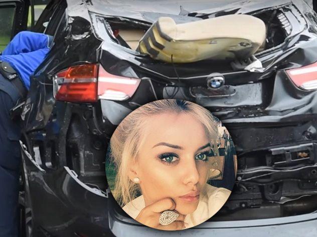 Внучка миллиардера Лебедева разбилась во время автогонок в Швейцарии. Фотохроника