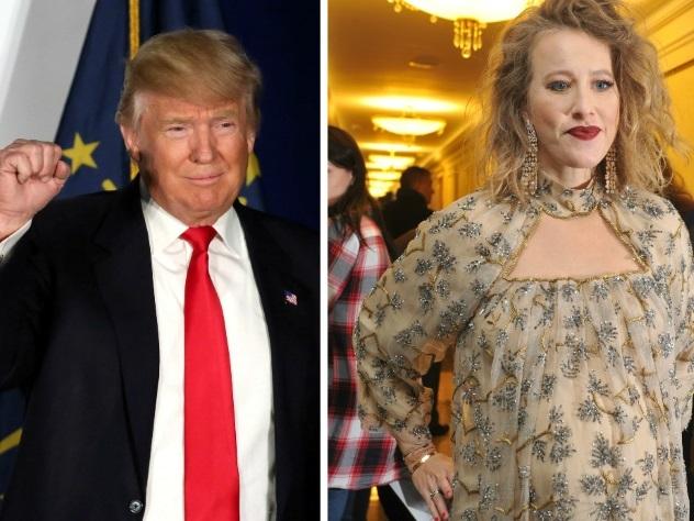 Дональд Трамп и Ксения Собчак стали главными персонами 2016 года