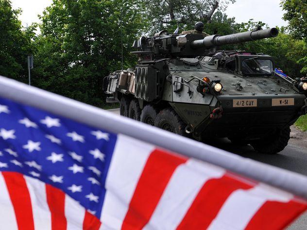 США вернули в Европу танки и гаубицы для сдерживания России