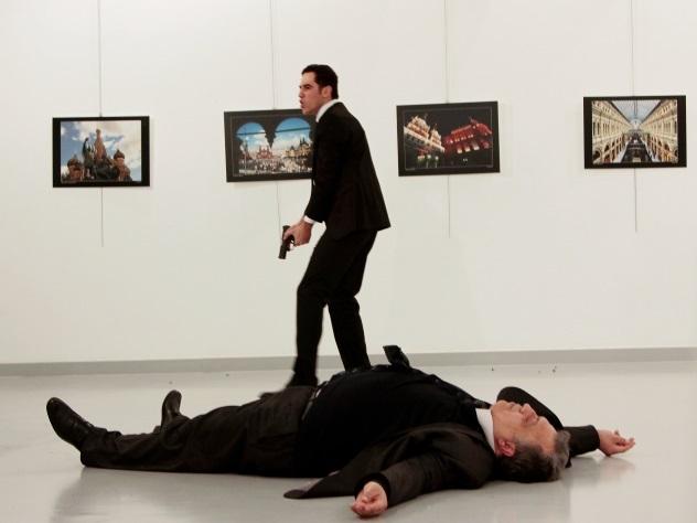 Убивший дипломата из РФ Алтынташ хотел стать охранником Эрдогана